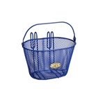 Nantucket Bike Basket, Surfside Child Mesh Basket, Royal Blue