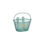 Nantucket Bike Basket, Surfside Child Mesh Basket, Turquoise