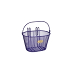 Nantucket Bike Basket, Surfside Child Mesh Basket, Purple