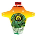 Ground Keeper Fender, Matt Powers Artist Series Rasta - Matte