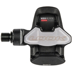 """LOOK KEO Blade Carbon Ceramic Pedals - Single Sided Clipless, Chromoly, 9/16"""", Black"""