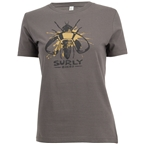 Surly Wingnut T-Shirt - Gray, Women's