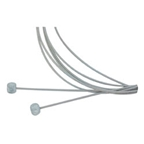 Aztec Stainless Brake Cable Set, Mountain - Front/Rear