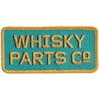 WHISKY Prospector Patch - Turquoise, Dark Blue, Gold