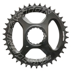 Easton Cycling FlatTop Direct Mount Chainring, 36T, 12sp, Black
