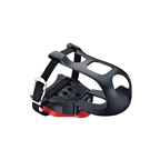 Exustar Look Delta Toe Clip Pedal Platform with Toe Clips and Straps