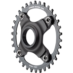 Shimano STEPS SM-CRE80 eBike Chainring - 36t, 56.5mm Chainline, Without Chainguide, Black