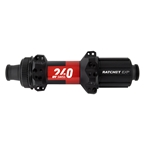 DT Swiss 240 MTB Straight Pull Rear Hub, 12TA x 148mm, 8-11s Ratchet EXP, CL, 28H, Black