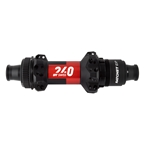 DT Swiss 240 MTB Straight Pull Rear Hub, 12TA x 148mm, 11-12s Cass Ratchet EXP, CL, 28H, Black