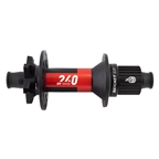 DT Swiss 240 MTB Rear Hub, 12TA x 157mm SuperBoost, 11 -12s Micro Ratchet EXP, 6-Bolt, 28H, Black