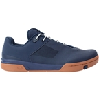 Crank Brothers Stamp Lace Men's Flat Shoe - Navy/Silver/Gum