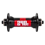DT Swiss 240S Road Front Hub, QR x 100mm, 32H, Black/Red