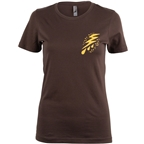 Salsa Women's Gravel Icons T-Shirt - Brown