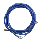 Odyssey Slic-Kable BMX/MTB Brake Cable with Housing, 1.5 x 1650mm, Blue