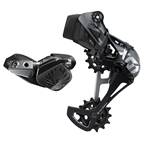 SRAM X01 Eagle AXS Upgrade Kit - Rear Derailleur for 10-52t, Battery, Eagle AXS Controller w/ Clamp, Charger/Cord, Lunar Black