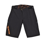 Fox Shox High Tail Shorts: Black