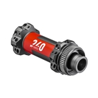 DT Swiss 240 MTB Straight Pull Front Hub, 15TA x 100mm, 28H, Center Lock, Black