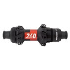 DT Swiss 240 Road EXP Ratchet Straight Pull Rear Hub, 12TA x 142mm, 12sp XDR, Center Lock, 28H, Black/Red