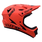 7iDP M1 Youth Helmet, Matte Thruster Red/Black, LG