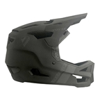 7iDP Project 23 Carbon Full Face Helmet, Raw Carbon/Gloss Gray, 2XL