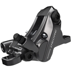 Shimano Deore BR-M6120 Disc Brake Caliper - Front or Rear, Hydraulic, Resin Pads, Gray