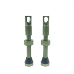 Hold Fast Cycling Tubeless Presta Valve Stems, 42mm, Green