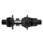 DT Swiss 350 Road Rear CL Hub, 12TA x 142mm, 11-12s XD, 28H, Black/White