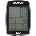 MSW Miniac GO GPS Bike Computer - GPS, Wireless