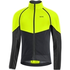 GORE Phantom Men's Cycling Jacket, Neon Yellow/Black