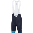 GORE Force Cycling Bib Shorts+, Women's, Orbit Blue/Scuba Blue