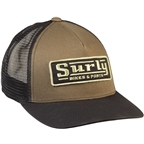 Surly Assistant Executive Director Trucker Hat - Green , Black, One Size