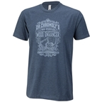 Surly Dr. Chromoly's Elixir Men's T-Shirt - Midnight Navy, Gray/Blue