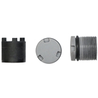 LOOK Mountain Spindle Plugs and Tool Kit - 2 Plugs, 4 NM, Gray