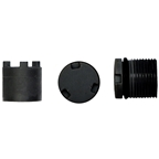 LOOK Mountain Spindle Plugs and Tool Kit - 2 Plugs, 4 NM, Black