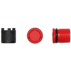 LOOK Mountain Spindle Plugs and Tool Kit - 2 Plugs, 4 NM, Red