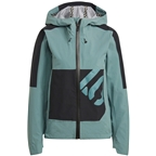 Five Ten All Mountain RAIN.RDY Jacket - Hazy Emerald, Women's
