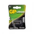 GP CR123A Battery