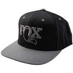 FOX Authentic Snapback Hat - Gray, One Size