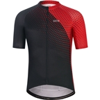 GORE Flash Men's Cycling Jersey, Black/Red