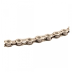 Clarks Self Lubricating 9 Speed Chain, 116L, Silver