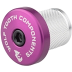 Wolf Tooth Compression Plug with Integrated Spacer Stem Cap, Purple