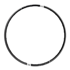 """Crank Brothers Synthesis Alloy Enduro 29"""" Front Disc Rim, 28h: Black"""