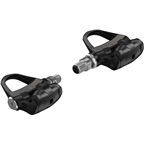 """Garmin Rally RS100 Power Meter Pedals - Single Sided Clipless, Composite, 9/16"""", Black, Pair, Single-Sensing, Shimano SPD-SL"""