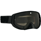 SPY+ WOOT RACE Goggles, Reverb Onyx/Smoke with Black Spectra HD Clear Lenses