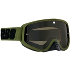 SPY+ WOOT RACE Goggles, Reverb Olive/Smoke with Black Spectra HD Clear Lenses