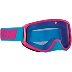 SPY+ WOOT RACE Goggles, Reverb Blue/Smoke with Black Spectra HD Clear Lenses