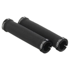 Velo VLG-884-3AD2-L1 Lock-on Grips with Metal Clamps, 92mm, Black