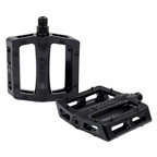 """The Shadow Conspiracy Metal Pedal Sealed Platform Pedals, 9/16"""", Black"""