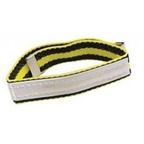 Yellow Racer Reflective Leg Band