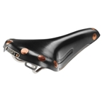 Brooks Team Professional Titanium Rail Saddle Black